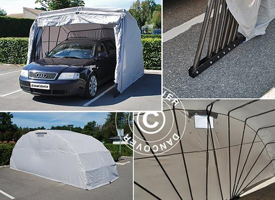 Folding Car Garage Cover : Garage solutions folding garages portable